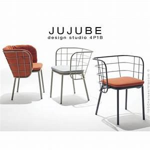 fauteuil design pour exterieur jujube structure acier With fauteuil design exterieur