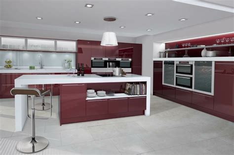 modele de cuisine americaine avec ilot central modle de cuisine avec ilot central cuisine blanche avec