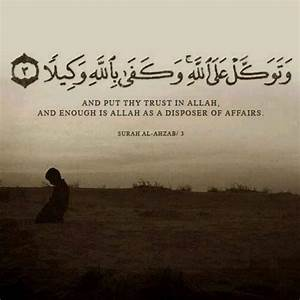 Importance and ... Allah Tawakkul Quotes
