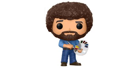 Bob Ross Is Coming To Funko Pop Television