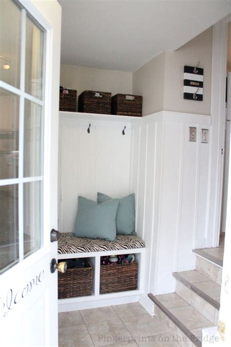entryway pictures remodelaholic diy entryway mudroom with cubbies for