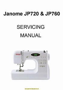 Janome Jp720