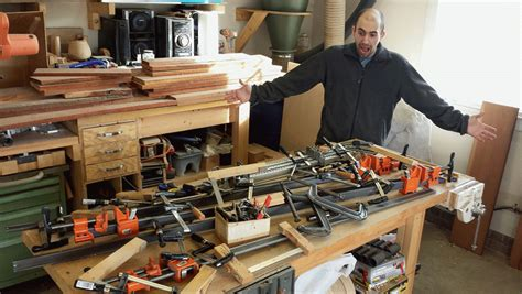 clamp rack woodshop mike