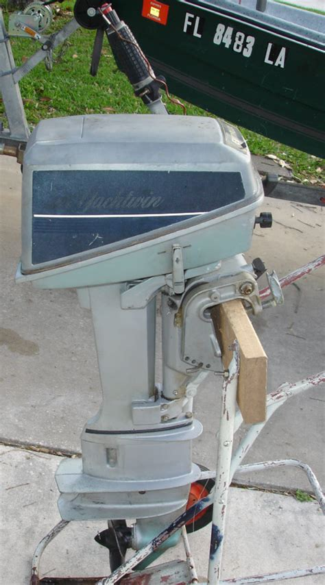 hp evinrude long shaft outboard