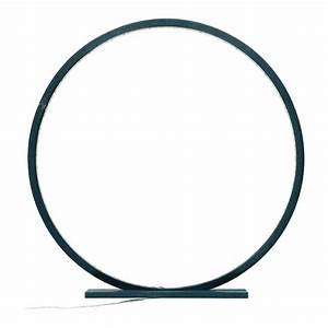 Lampe Bleu Canard : lampe cercle comme un rayon de soleil en bois peint bleu canard ~ Teatrodelosmanantiales.com Idées de Décoration