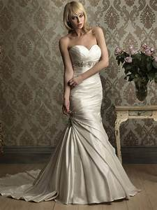 sweetheart beaded fitted mermaid trumpet wedding dresses With fitted mermaid wedding dresses