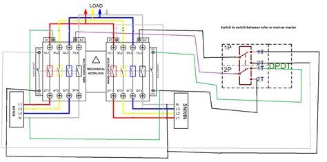 manual change  switch circuit diagram