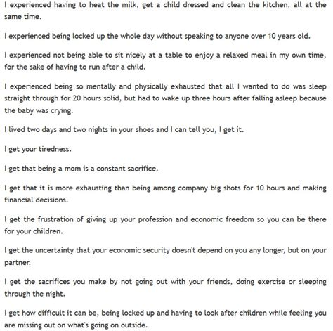 wife left   mans apology letter
