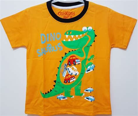 Dino Kuning jual kaos anak size 1 6 oshkosh dino kuning baju anak