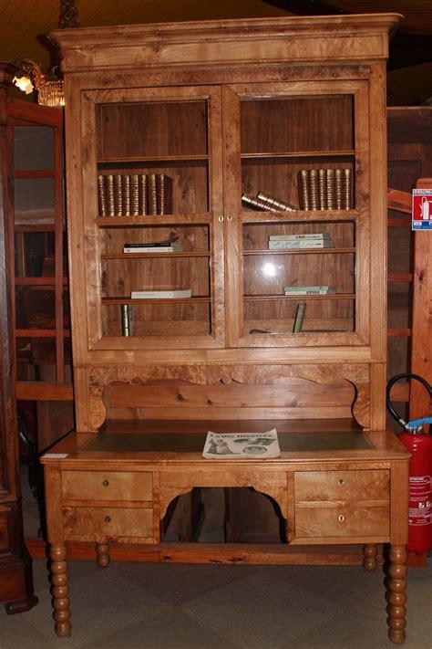 bibliotheque bureau bureau bibliothèque louis philippe en frêne antiquites