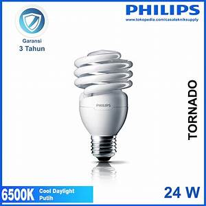 Jual Lampu Philips Tornado 24w 24 W 24 Watt 24watt Putih
