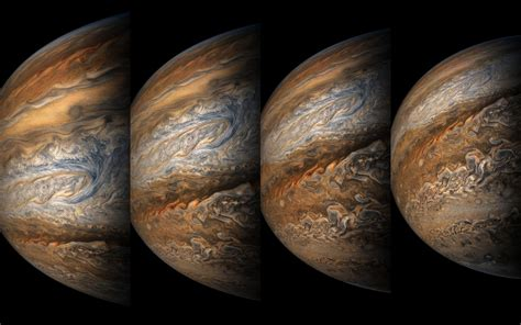 Space Images | Juno's Eighth Close Approach to Jupiter
