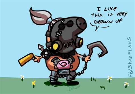 Roadhog Memes - peppa hog overwatch know your meme