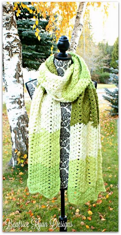 Crochet Scarf Tea Beatriceryandesigns Pattern