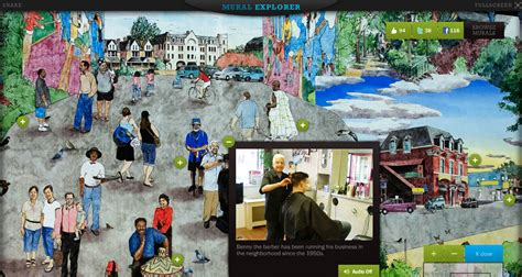 Philly Mural Arts Map by Smart Interactive Technology And