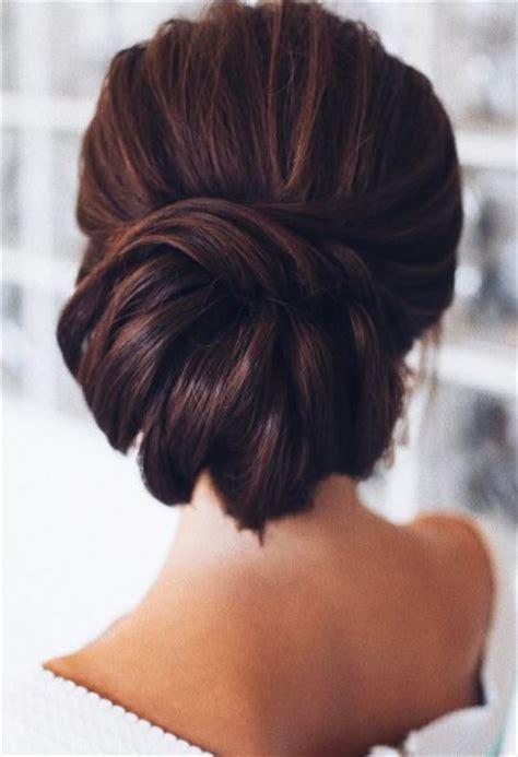 best 25 brunette updo ideas on pinterest