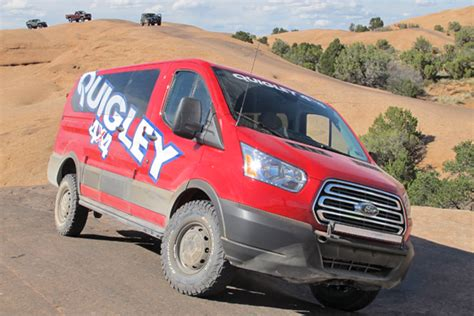 Quigley Motors Now Offers Ford Transit 4x4