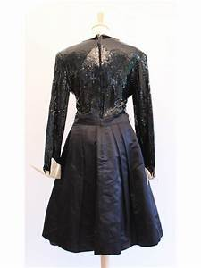 robe vintage christian dior sequins 38 secondemaindeluxe With robe christian dior