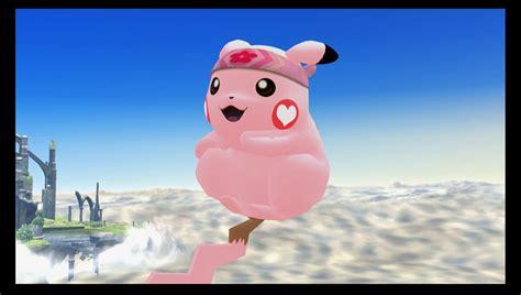 Cute Pikachu (Super Smash Bros. for Wii U > Skins