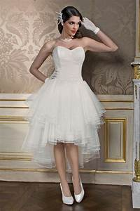 Robe Courte Mariée : robes de mari e courtes robe de mari e courte jacinthe ~ Melissatoandfro.com Idées de Décoration