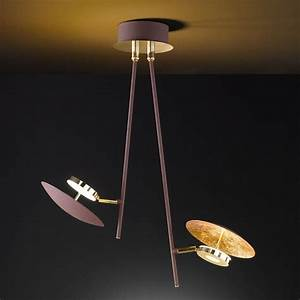 Lampe Indirektes Licht : led vintage look deckenlampe dimmbar ~ Michelbontemps.com Haus und Dekorationen