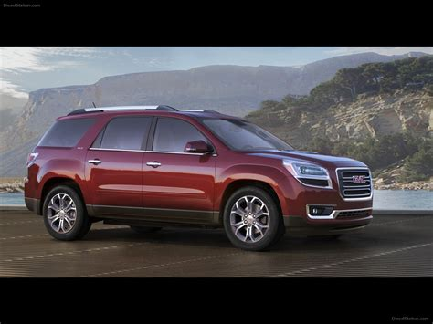 gmc acadia  exotic car picture    diesel station