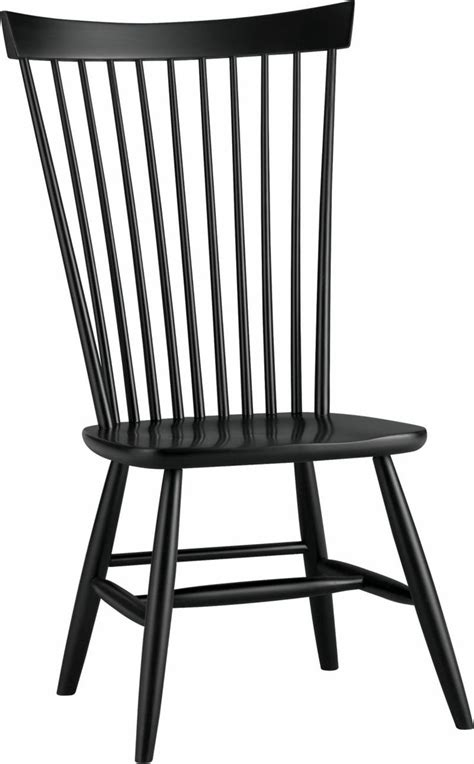 marlow ii black side chair crate and barrel ideas for