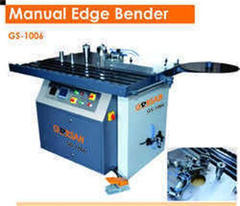 edge banding machinery manual edge banding machine