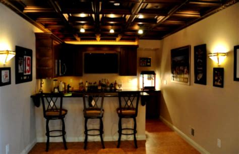 unfinished basement ceiling paint with amazing lighting