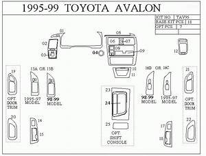 2001 Toyota Avalon Wiring Diagram