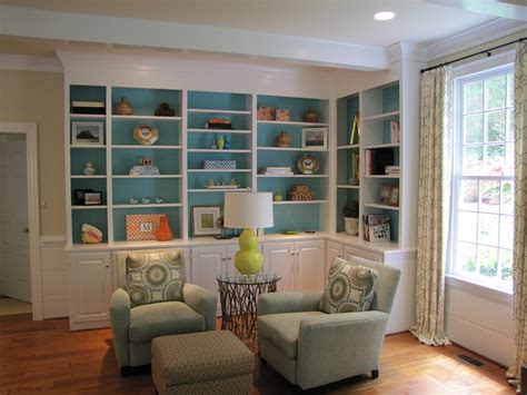Bookcase Room by Painted Bookcases Janet Brown Interiors