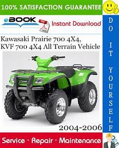 Kawasaki Prairie 700 4 U00d74  Kvf 700 4 U00d74 All Terrain Vehicle