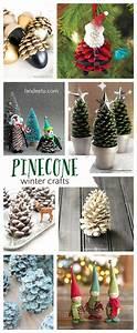 Pretty, Winter, Crafts, Using, Pinecones