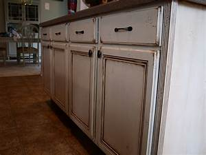 how to paint and antique kitchen cabinets my way With painting cabinets white antique look