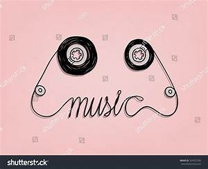 Cassette Tape Music Graphic Design,Music Background Design ...