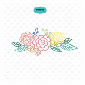 Hand drawn flowers, drawing flowers, flower vector