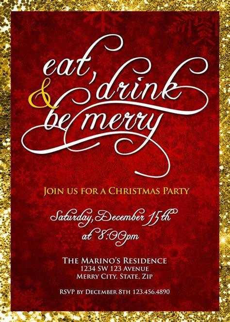 party invitations psd ai vector eps design
