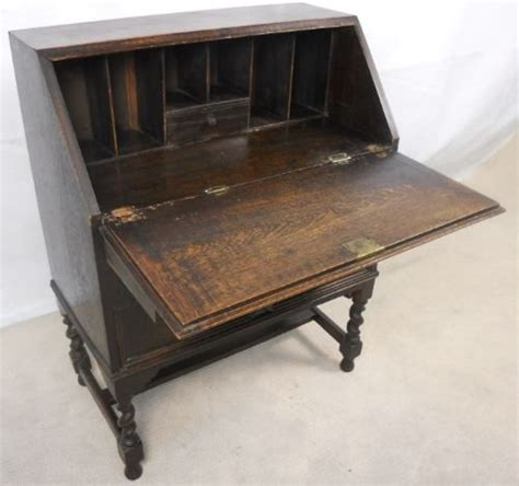 oak writing bureau uk antique jacobean style oak writing bureau 115504