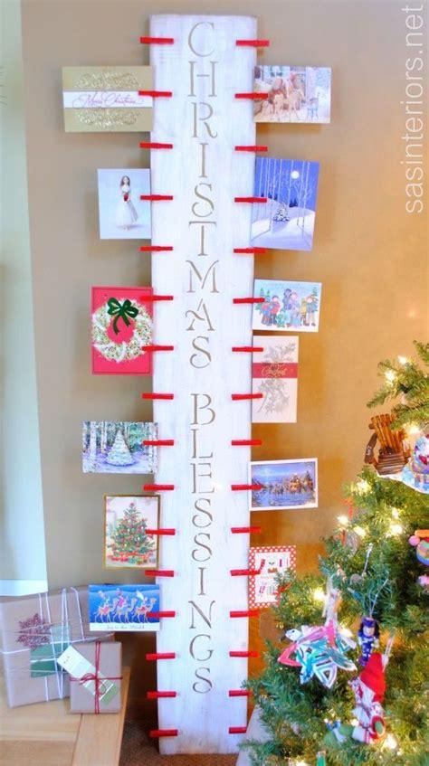 holiday cards display ideas christmas cheer christmas card display christmas card holders