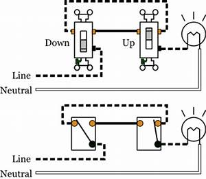 3 way switches electrical 101 With 4 way switch setup