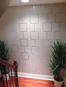 decor hacks aluminum feature wall decor object