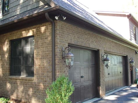 exterior lighting traditional garage and shed