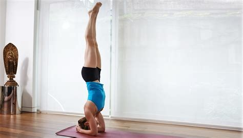 Sirsasana is a very safe pose if you learn how to evolve on it. Health benefits of Sirsasana