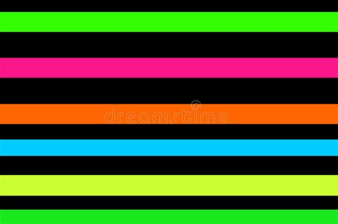 neon stripes stock illustration illustration  digital