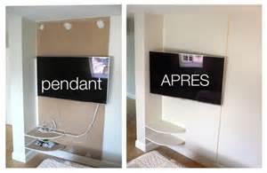 comment cacher les fils tv murale comment cacher les fils de la tv accroch 233 e au mur recherche cacher sa tēlē