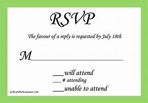sample rsvp cards wedding invitation on how to fill out a With wedding invitation reply format