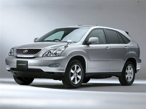 toyota harrier nissan x trail vs toyota harrier car from japan