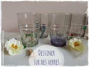Comment Faire Du Verre : faire du dessin sur verre bricolage f te des m res ~ Melissatoandfro.com Idées de Décoration