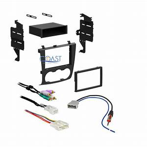 Car Stereo Double Din Dash Kit Bose Wiring Harness Antenna