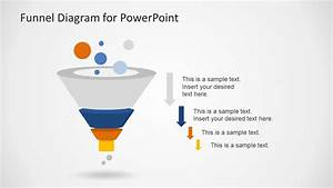 Creative Funnel Diagram Template For Powerpoint